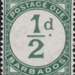 Barbados Postage Due D1
