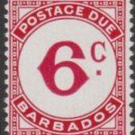 Barbados Postage Due D10