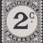 Barbados Postage Due D12