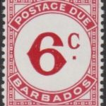 Barbados Postage Due D13