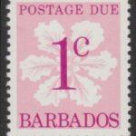Barbados Postage Due D14