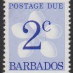 Barbados Postage Due D15