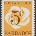 Barbados Postage Due D16