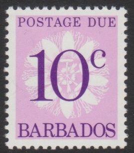 Barbados Postage Due D17