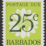 Barbados Postage Due D18