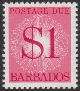 Barbados Postage Due D19