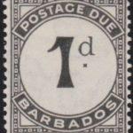 Barbados Postage Due D2a