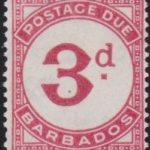Barbados Postage Due D3