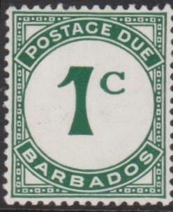 Barbados Postage Due D4