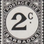 Barbados Postage Due D5