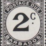 Barbados Postage Due D5a