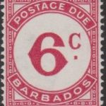 Barbados Postage Due D6
