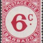 Barbados Postage Due D6a