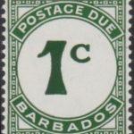Barbados Postage Due D7