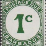 Barbados Postage Due D7b