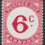 Barbados Postage Due D9
