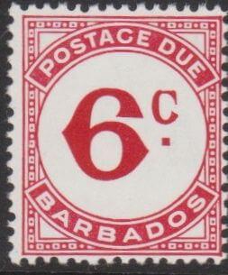 Barbados Postage Due D9a