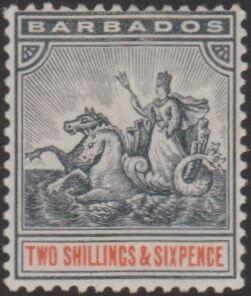 Barbados SG114