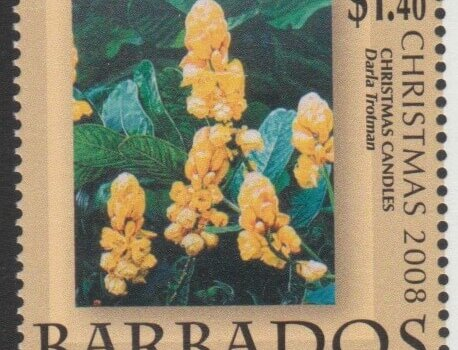 Barbados SG1334 - Christmas 2008 - $1.40 Christmas Candles