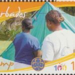 Girl Guides - 10c 'Camp' - Barbados SG1354 -