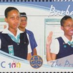 Girl Guides - 50c 'The Promise' - Barbados SG1355