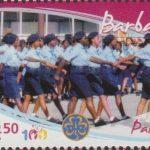 Girl Guides - $2.50 'Parade' - Barbados SG1357