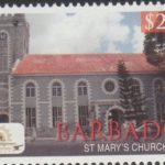 Historic Bridgetown - Barbados SG1390 - $2 St Mary's Church