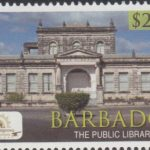Historic Bridgetown - Barbados SG1391 - $2.75 The Public Library