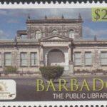 Historic Bridgetown - Barbados SG1391 - $2.75 The Public Library