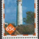 Lighthouses of Barbados - 65c - Barbados SG1392 - Harrison Point Lighthouse