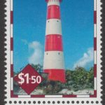 Lighthouses of Barbados - $1.50 - Barbados SG1393 - South Point Lighthouse