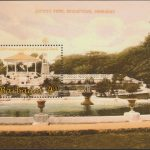 100th Anniversary of Queens Park - $4 minisheet - Barbados MS1348