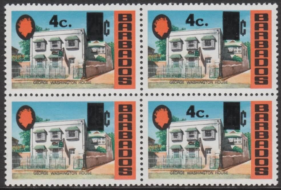 Barbados SG479a