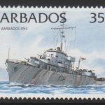 Barbados SG1033B