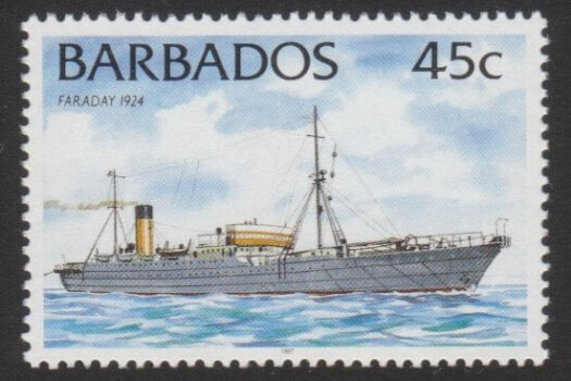 Barbados SG1034B