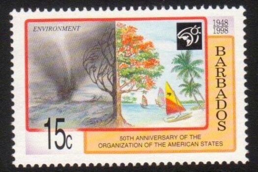 Barbados SG1122