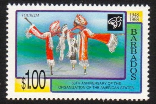 Barbados SG1123