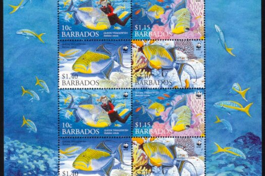 Barbados SG1290-93