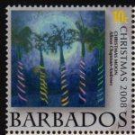 Barbados SG1332 - Christmas 2008 - 10c Christmas Moon