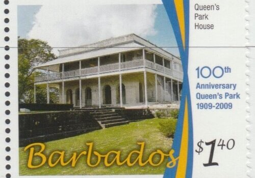 100th Anniversary of Queens Park - $1.40 Queen's Park House - Barbados SG1346