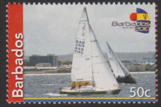 Fireball International World Championship Sailing 2010 - 50c - Barbados SG1350