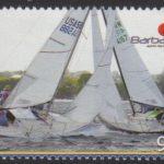 Fireball International World Championship Sailing 2010 - 90c - Barbados SG1351