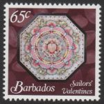 Sailors' Valentines - 65c - Barbados SG1376