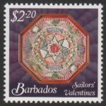 Sailors' Valentines - $2.20 - Barbados SG1377