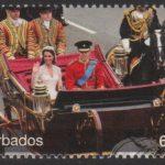 The Royal Wedding of Prince William and Kate Middleton - 65c - Barbados SG1380