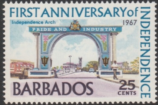 Barbados SG368