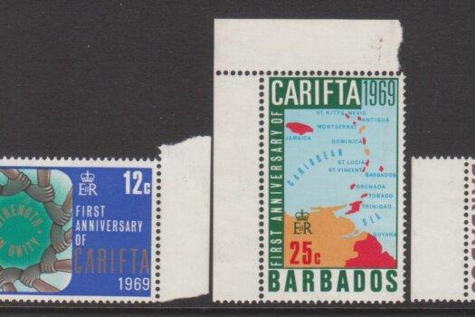 Barbados SG386-389