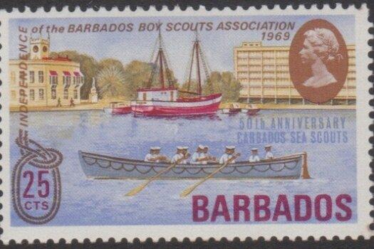 Barbados SG394