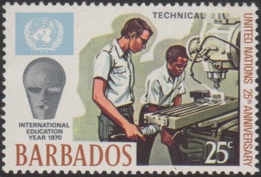 Barbados SG417