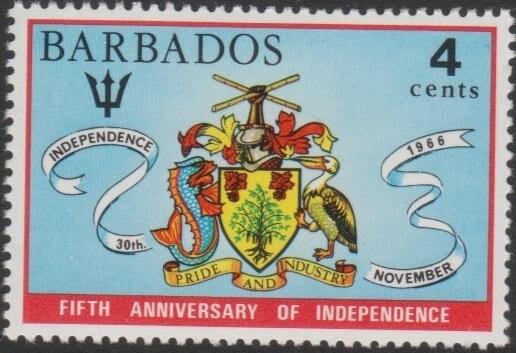 Barbados SG436